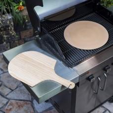 Камень и лопатка для пиццы